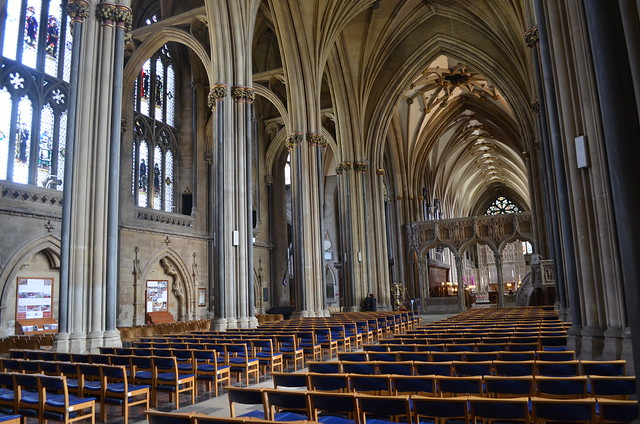 Nef de la Cathédrâle de Bristol