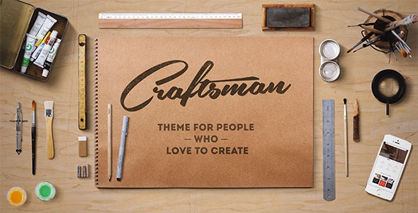 Craftsman v1.5.3 - WordPress Craftsmanship Theme