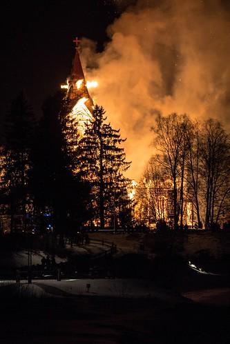 church fire arson ylivieska