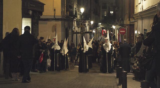 Cofradía del Silencio, Semana Santa, Madrid (2016)