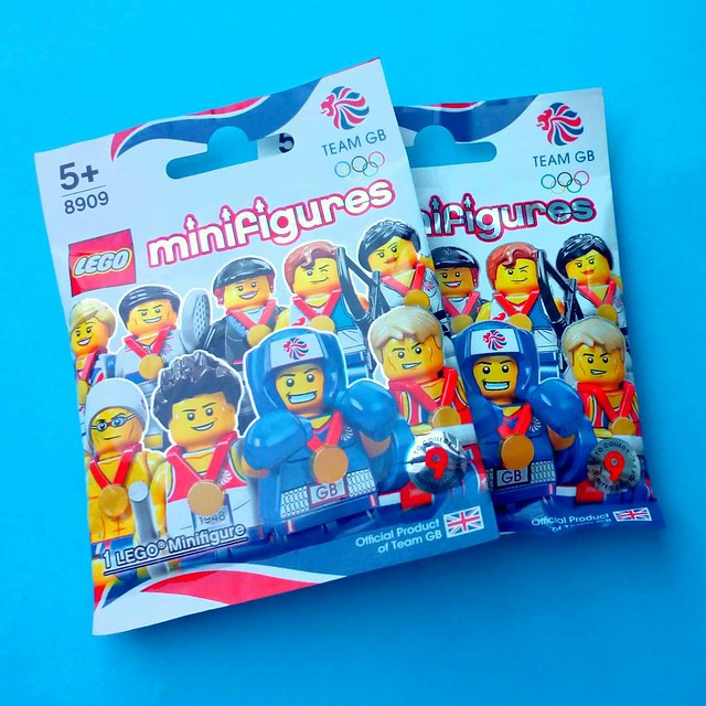 I found two copies of 8909 - LEGO Collectable Minifigures - Team GB at my local Argos
