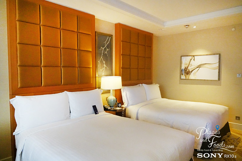 conrad macau superior room king beds