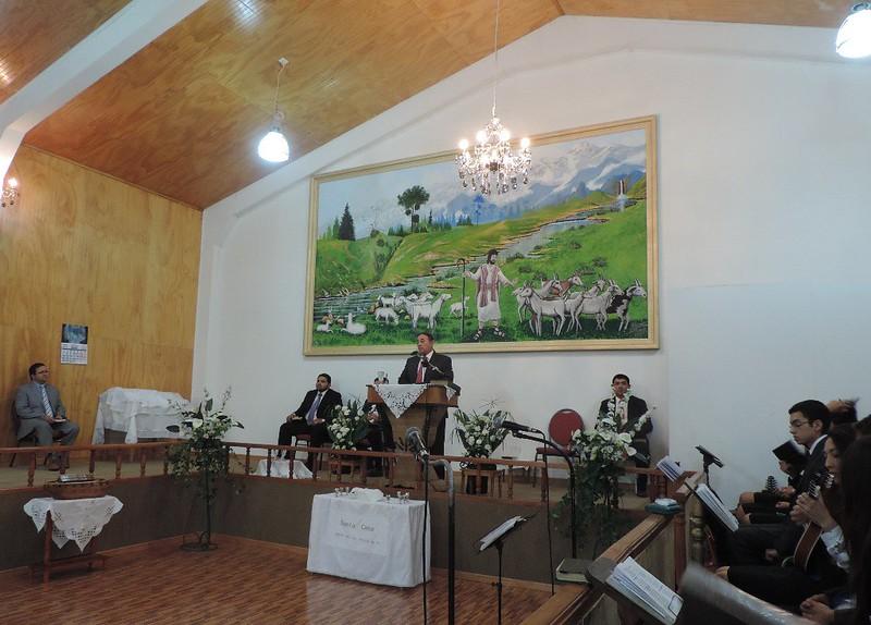 Grato tiempo de comunión en Trehuaco.
