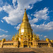 Wat-Phrabathouytom in Lamphun province,Thailand