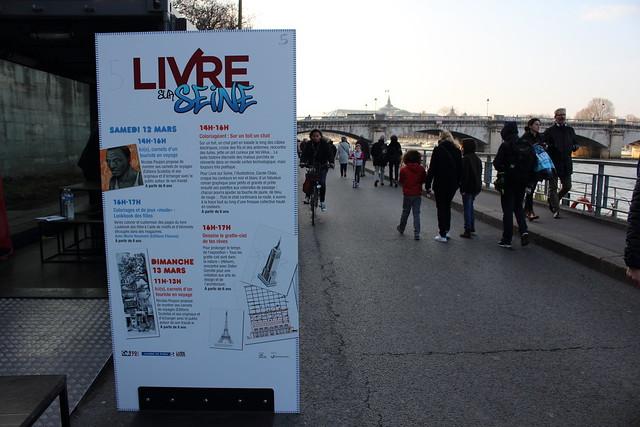 Livre sur Seine - Livre Paris 2016