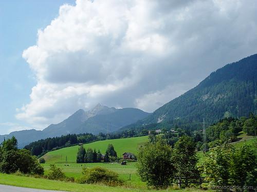 summer alps austria europe steiermark autriche at rottenmann