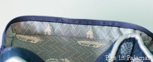 Polaris bag hand stitching