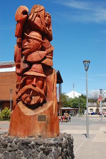 City of Villarica, near Pucón, Chile