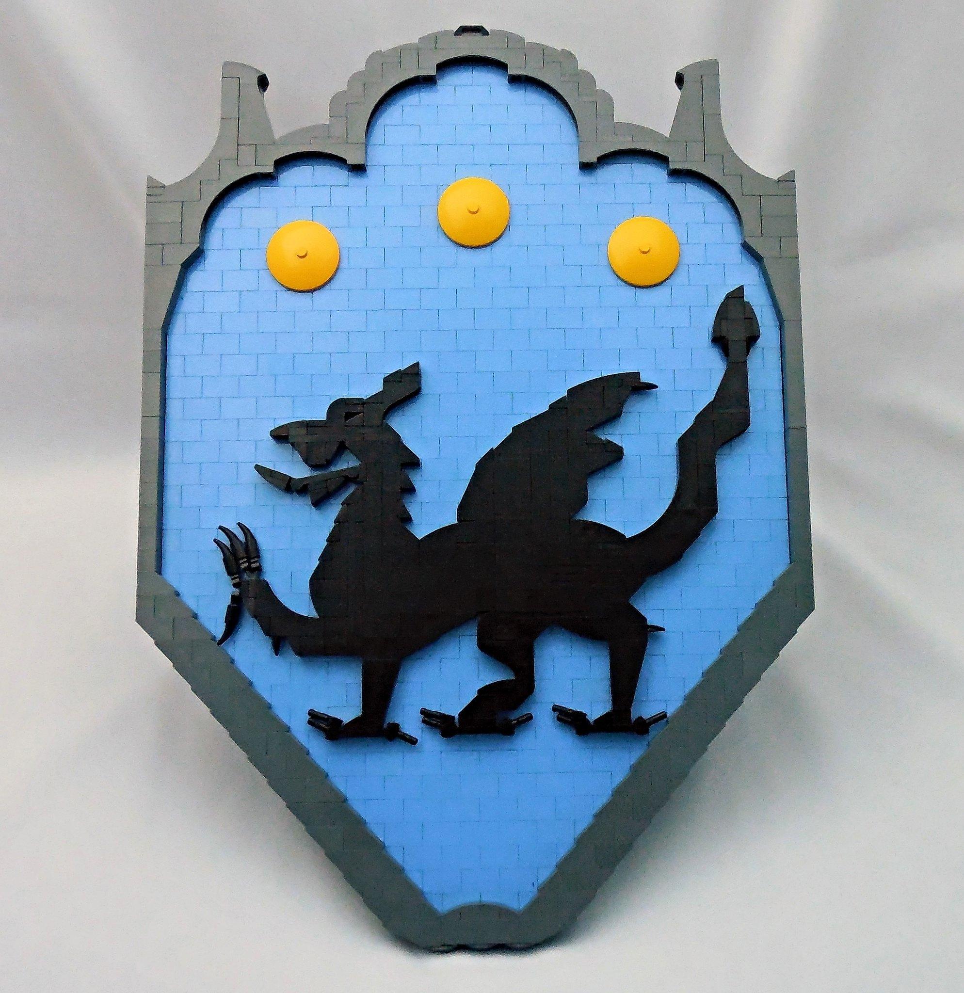 LEGO® MOC by Vitreolum: Dragon Crest