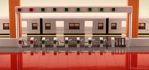 Train Ticket Gate - Close