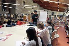 Atelier manga animé par Chong Yong à la bibliothèque municipale