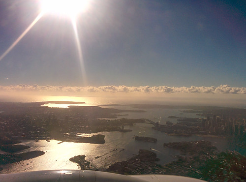 Sydney from the Plane