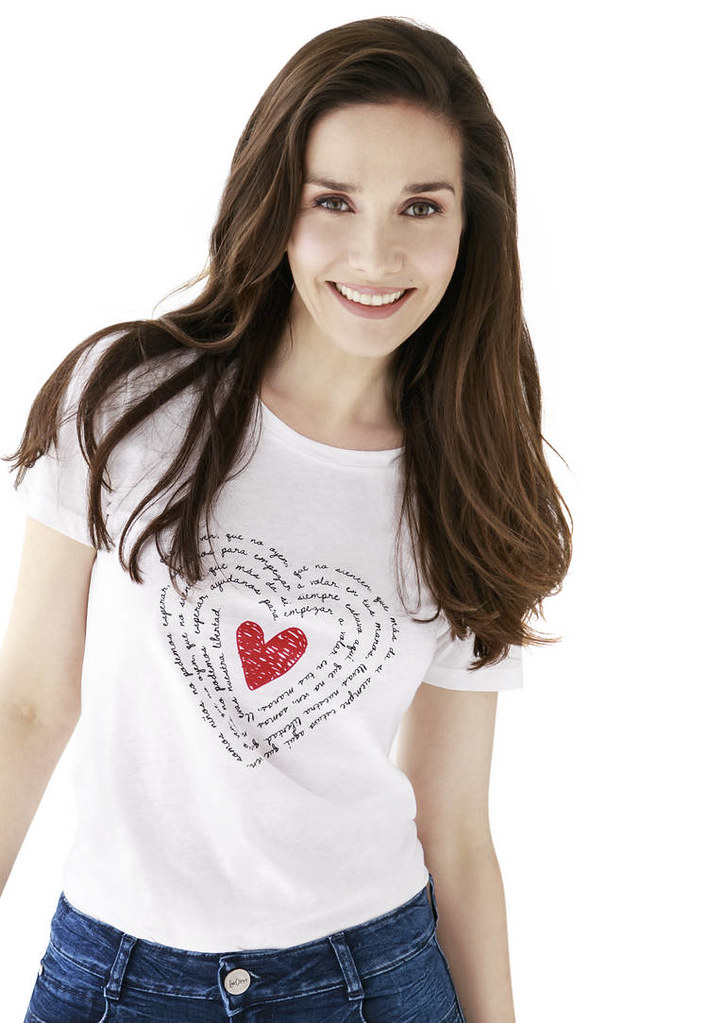 Наталия Орейро в футболке