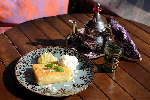 Tabelaアラブのデザートプレート