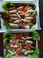 Sausage Platter with German-style Pork Bratwurst &…
