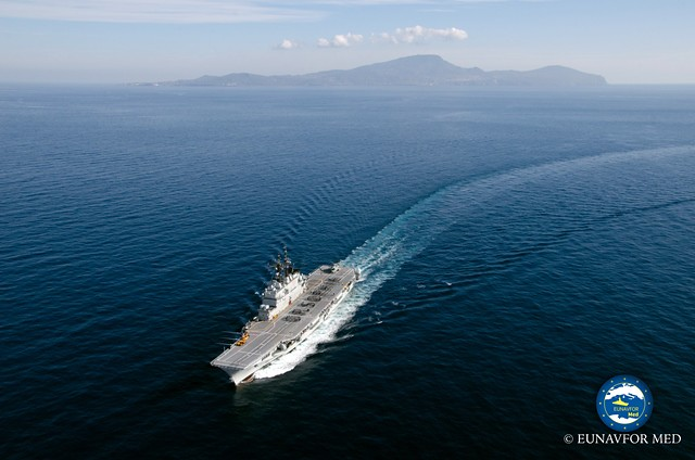 Operation Commander on board the Flagship to meet with all subordinates units – Op.Sophia EUNAVFOR MED