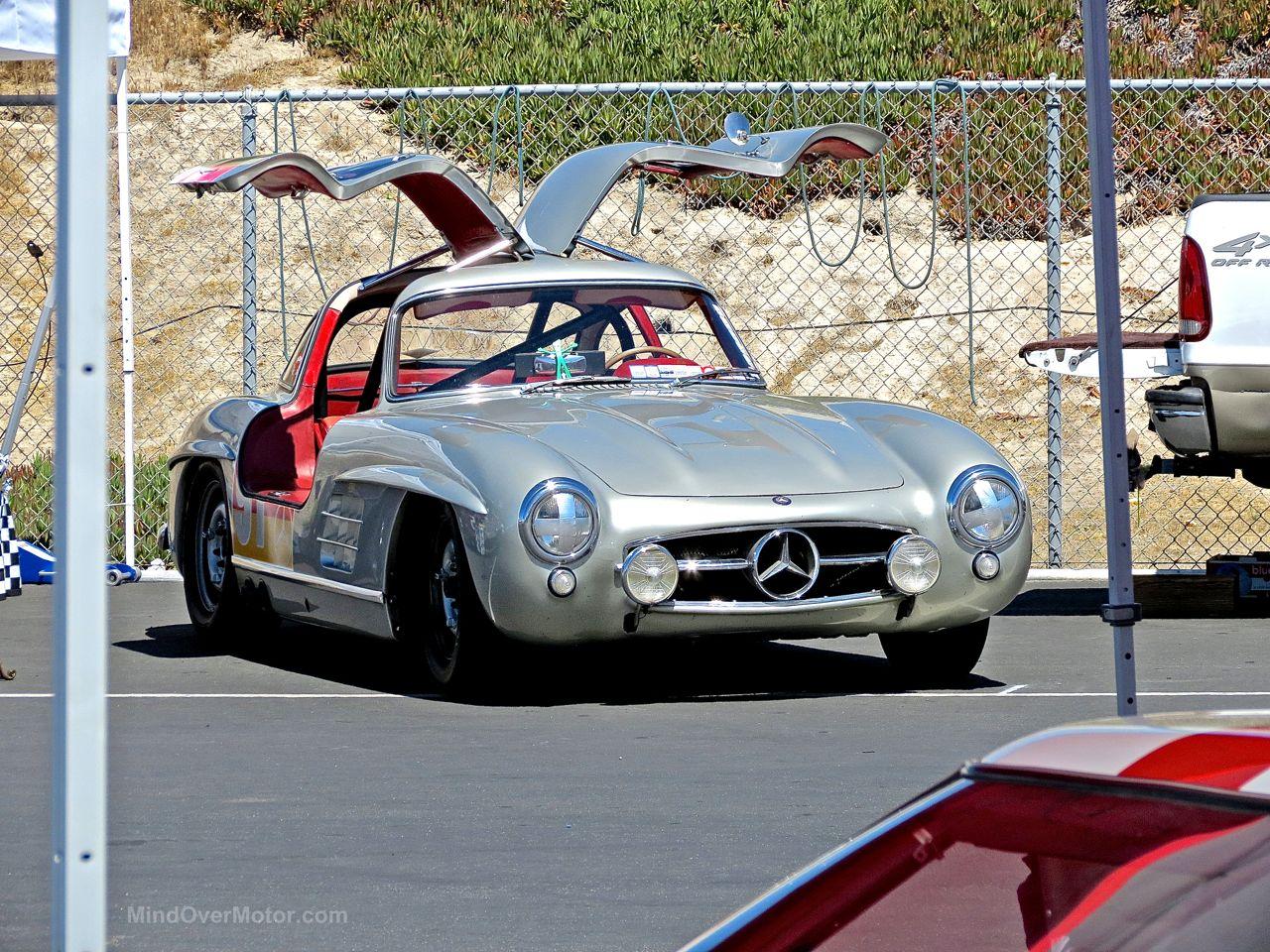 Mercedes 300 SL Laguna Seca Paddock