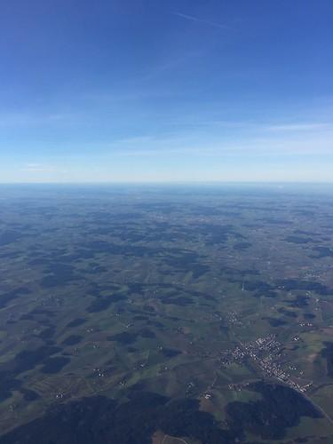 Departure from Munich / Abflug von München