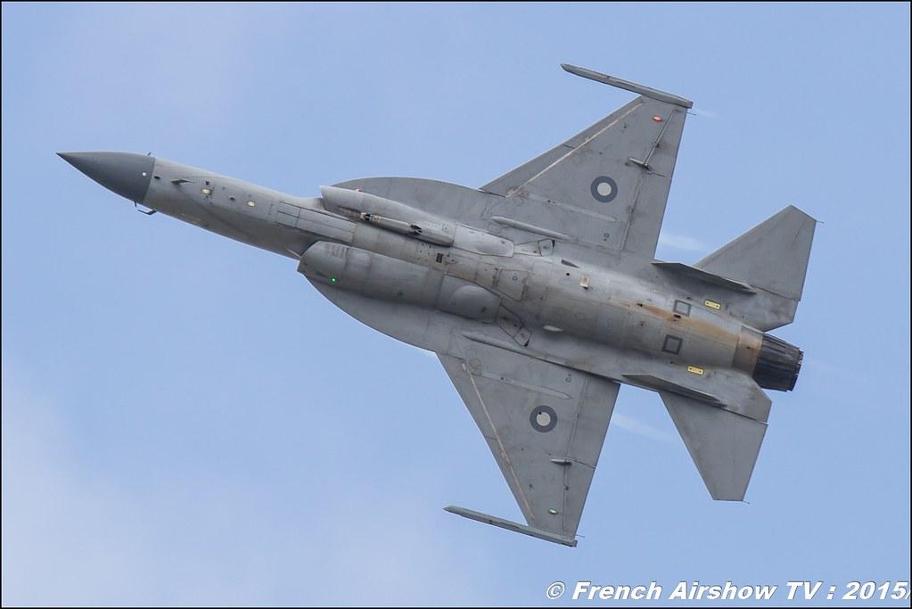 JF-17 Thunder Pakistan Salon du Bourget Sigma France Paris Airshow 2015