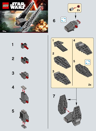 The Brick Fan Tag Archive Kylo Rens Command Shuttle