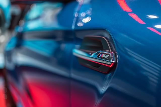 2016 BMW M2 Badge