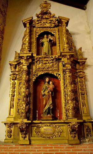 Aldeaseca de la Frontera. Iglesia de la Asunción. Retablo