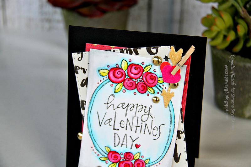 Happy Valentine's day closeup #1