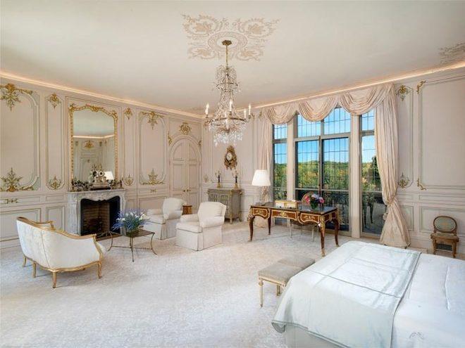 Спальня во дворце Коннектикута