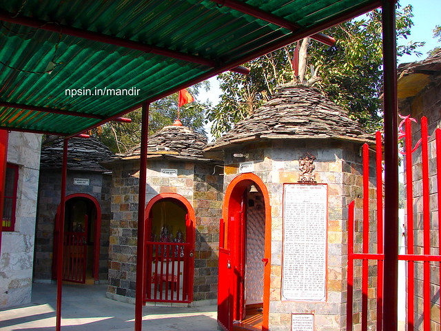 Shri Lakshmi Narayan, Shri Radha Krishna, Maa Saraswati, Shri Ram Darwar, Shri Hanuman Ji Dham