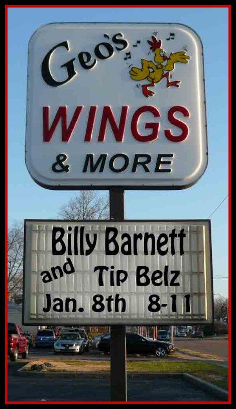 Billy Barnett & Tip 1-8-16