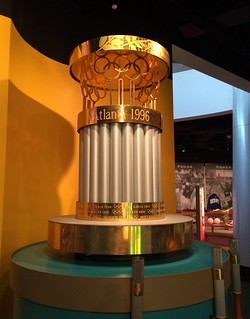 Atlanta - Atlanta History Center - Museum - 1996 Centennial Olympic Games - Olympic Flame Holder