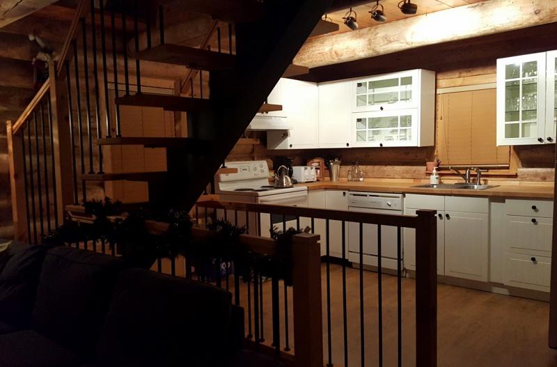 Au Chalet en Bois Rond kitchen