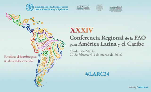 XXXIV Conferencia Regional de la FAO para América Latina y el Caribe