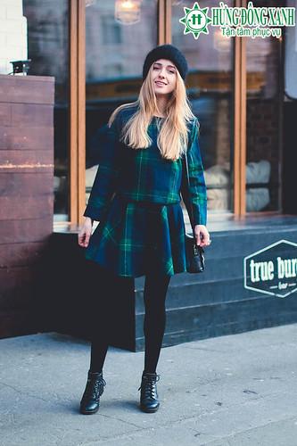 Sinh viên du học quốc tế thể hiện đẳng cấp mặc đẹp với street style hút mắt
