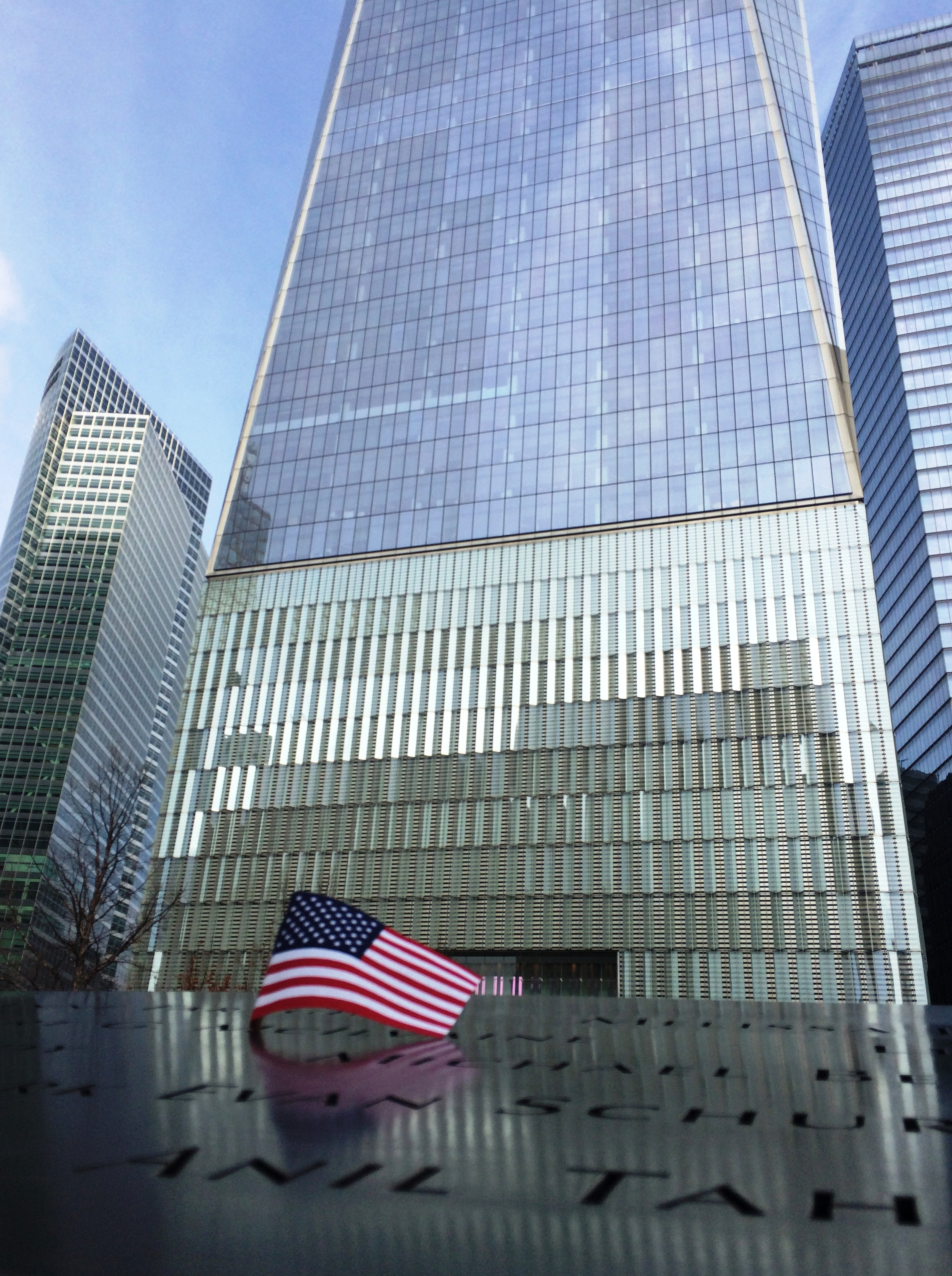 9/11 Memorial, New York City, NY, Feb. 10, 2016