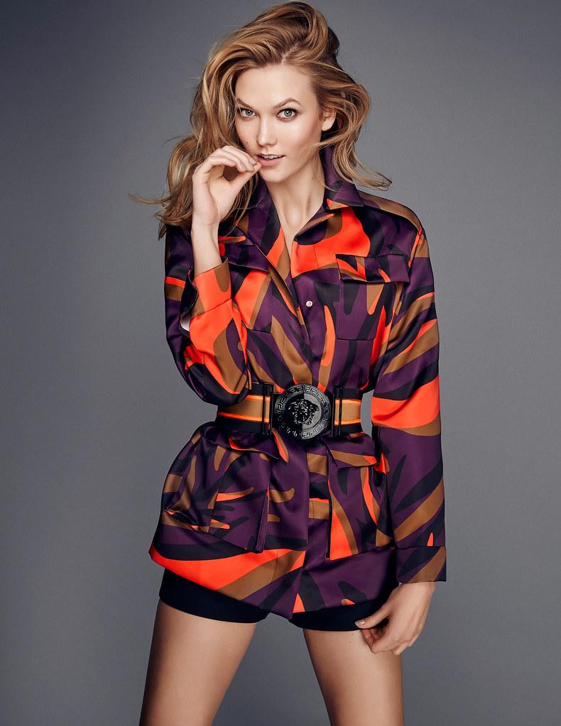 Карли Клосс — Фотосессия для «Elle» UK 2016 – 3