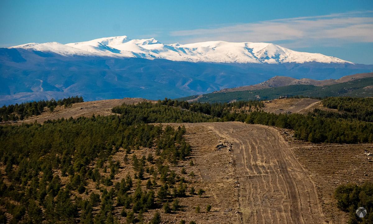 Sierra Nevada tirando de zoom