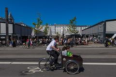 Copenhagen bikes - Transporting valuables #4