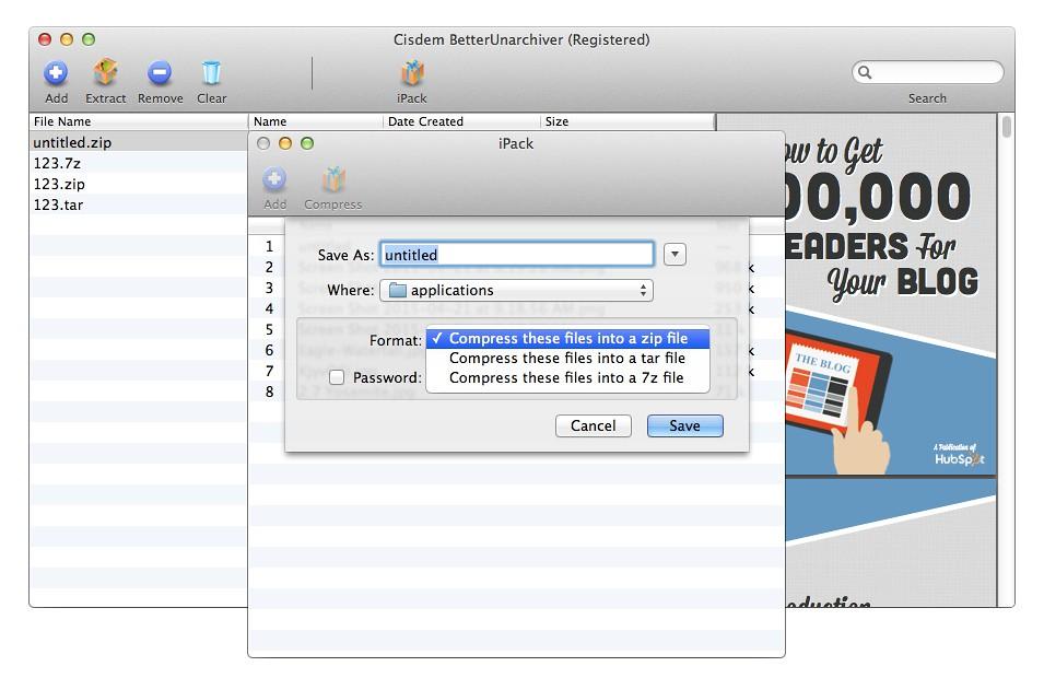 Cisdem BetterUnarchiver 2 1 0 – Unzip partially or entirely, preview