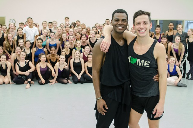 Parsons Dance Master Class at NHSDF