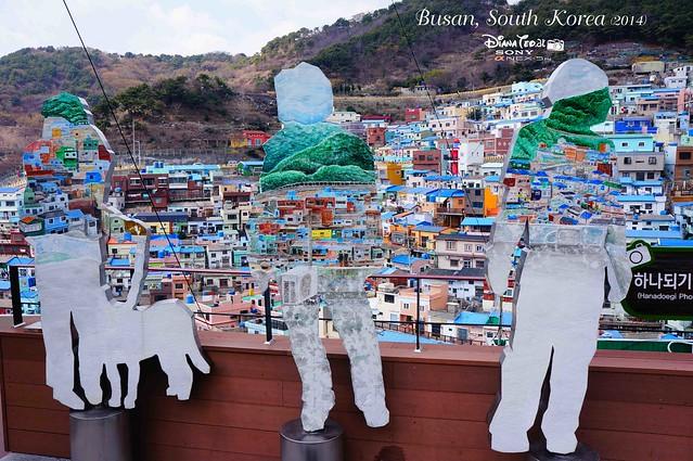 South Korea 2014 - Day 02 Busan Gamcheon Culture Village 12