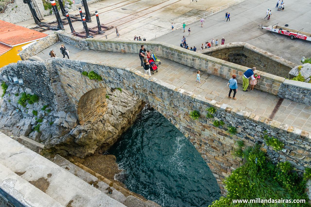 Puente medieval romano