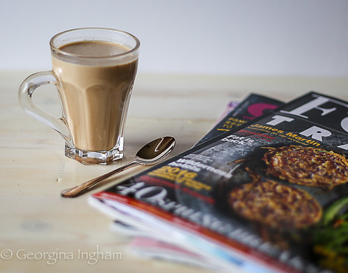 Georgina Ingham - Photograph Chai and Magazines A Truly Relaxing Time