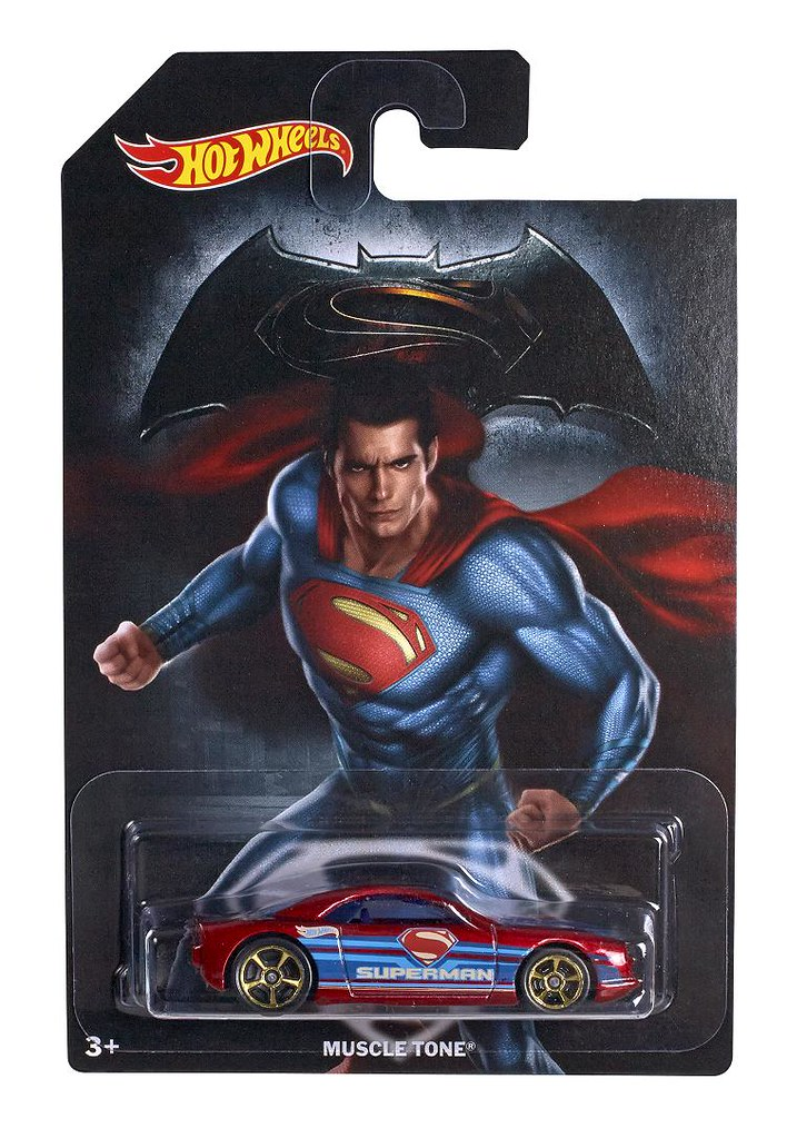 風火輪推出八款《蝙蝠俠對超人:正義曙光》主題系列車款