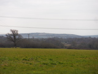 South Downs views, from near Horsted Green