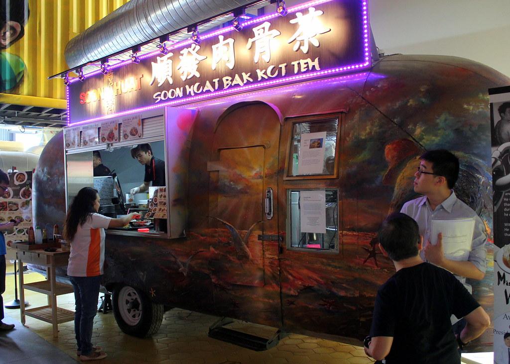 soon huat bak kut teh food truck @ Timbre+