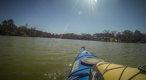 Saluda Lake Paddling-64