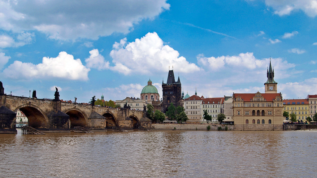 Prag - Karlsbrücke - 120508