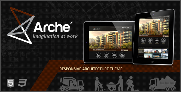 Arche v1.1.0 - Architecture Creative Template
