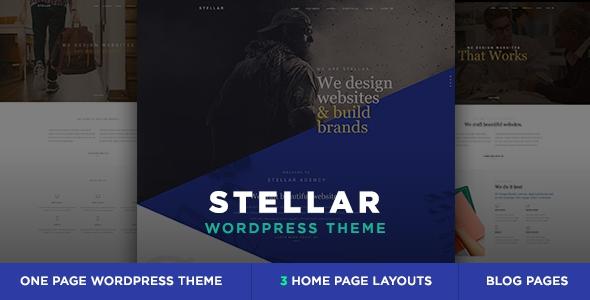 Stellar v1.0 – Creative & Agency Responsive WP Theme